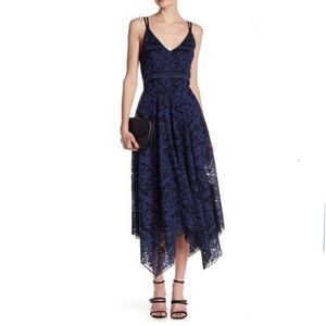 Romeo and Juliet Couture Midi Floral Lace Dress